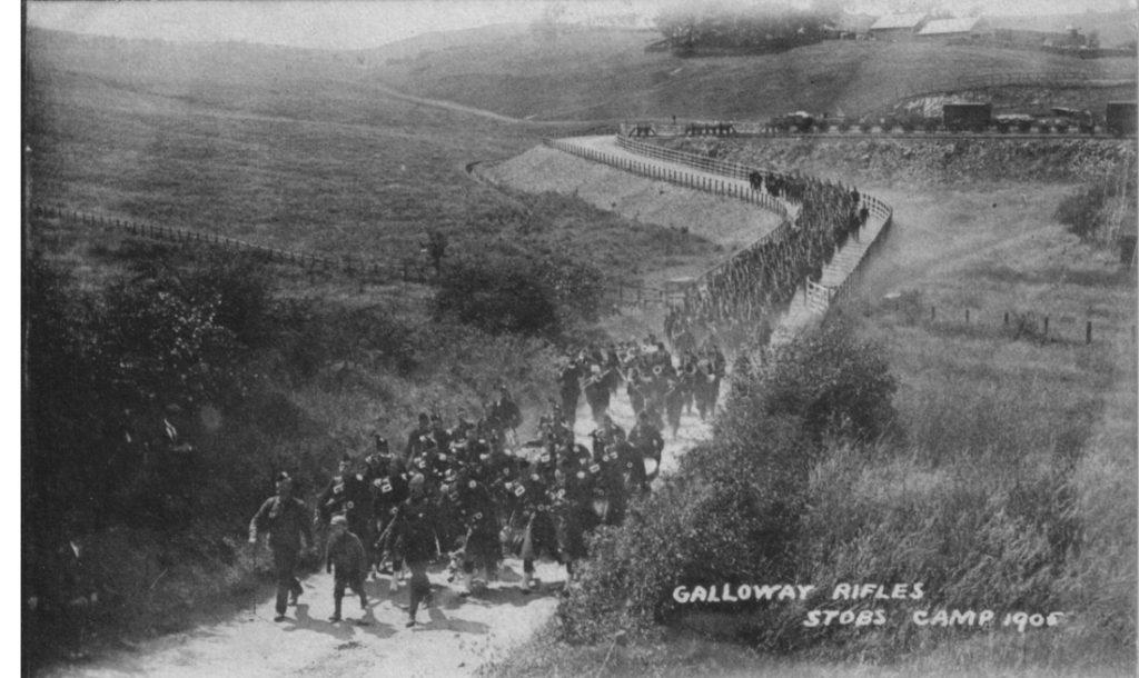 GALLOWAY RIFLES 1905; Railway; Train