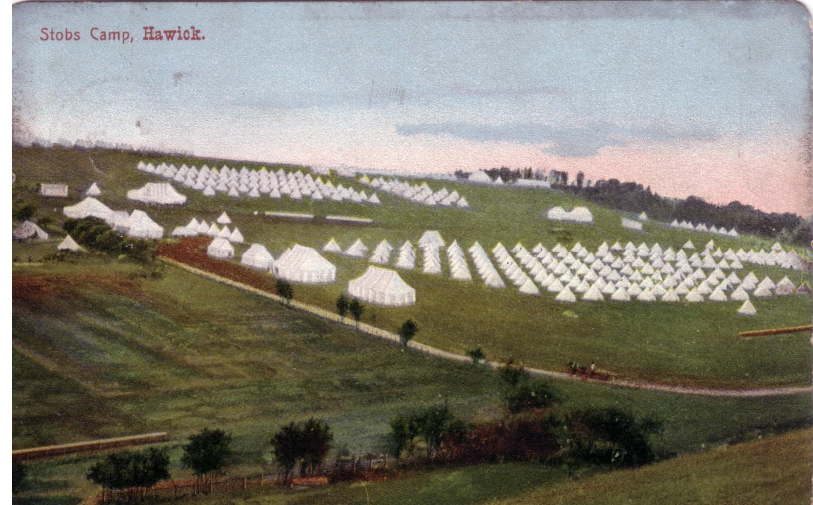 Stobs Camp; Hawick; 1906; Bell Tents; First World War