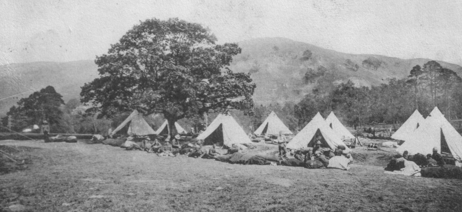 30000 men; soldiers; Stobs Camp; 1903; First World War