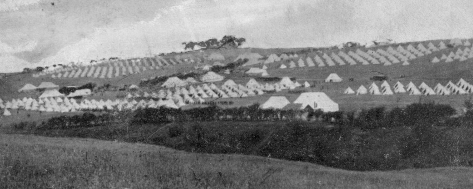 Stobs Camp; 1905; Bell Tents; First World War