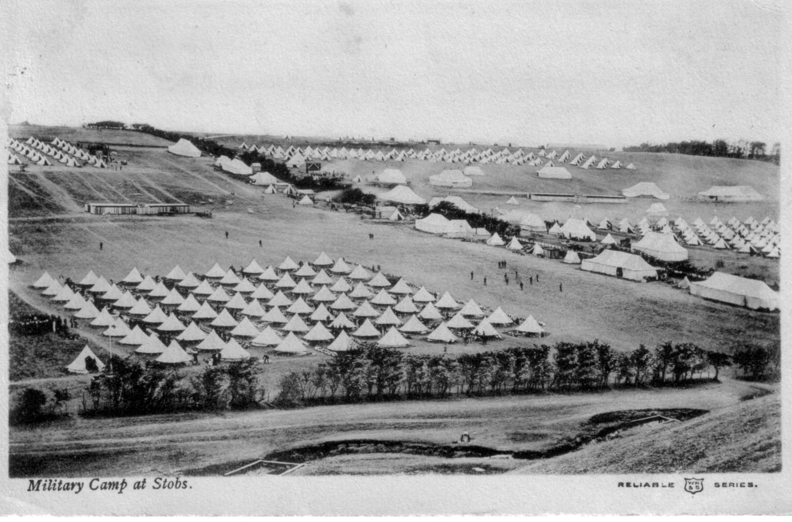 Stobs Camp; 1906; Bell Tents; First World War