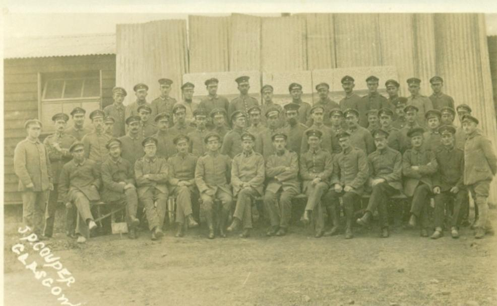 Stobs Camp; Military; 1917; Glasgow; Prisoners; German