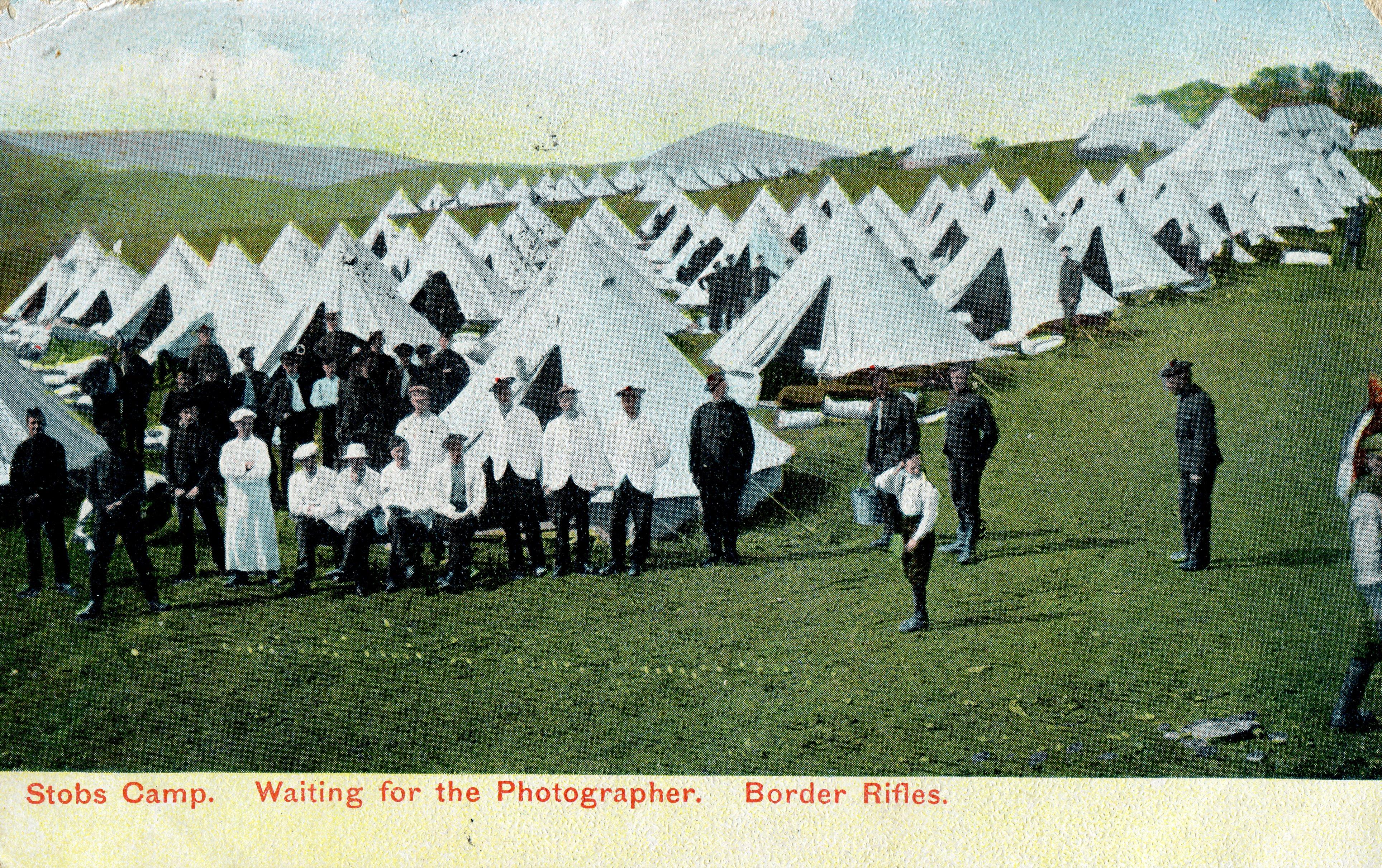 Border Rifles; First World War; WW1; 1906; Photographer