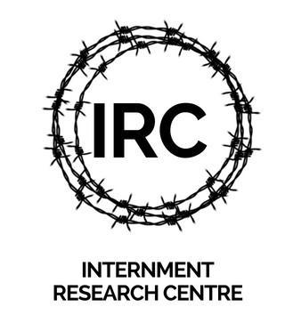 internment research centre; irc; logo